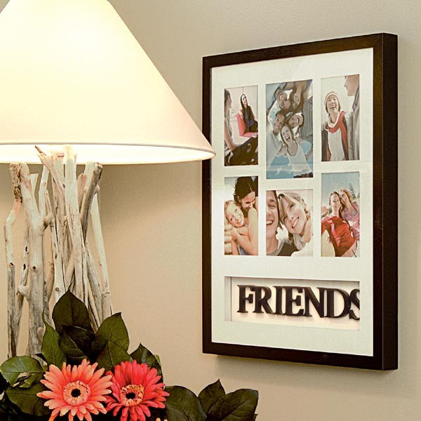 "Friends Theme Collage Wall Frame (20"" x 16"")"