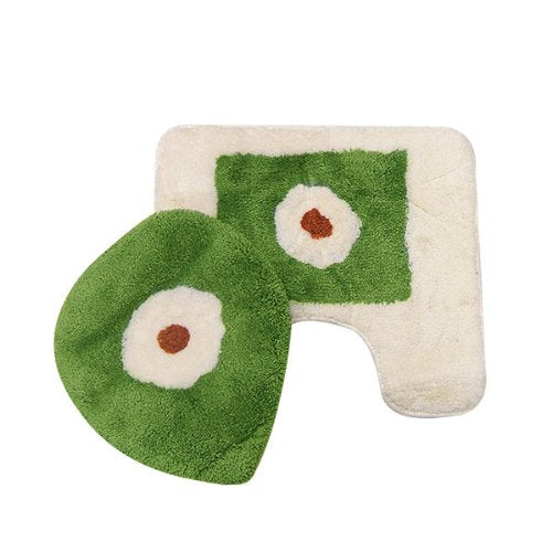 "Garden Party Toilet Rug Set (18"" x 20"")"