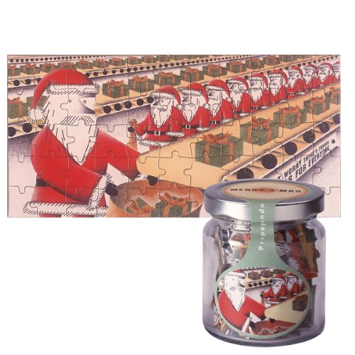 Christmas Jigsaw Card