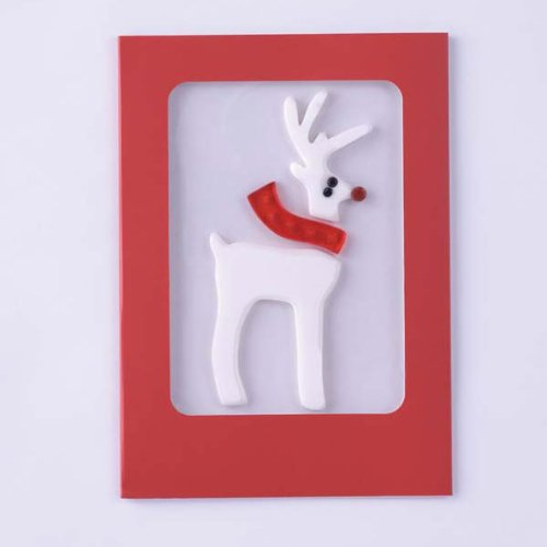 Christmas Gel Gem Greeting Card