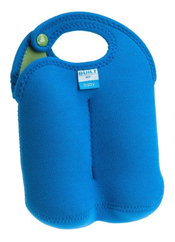 Built Baby Bottle Tote - Double, Blue
