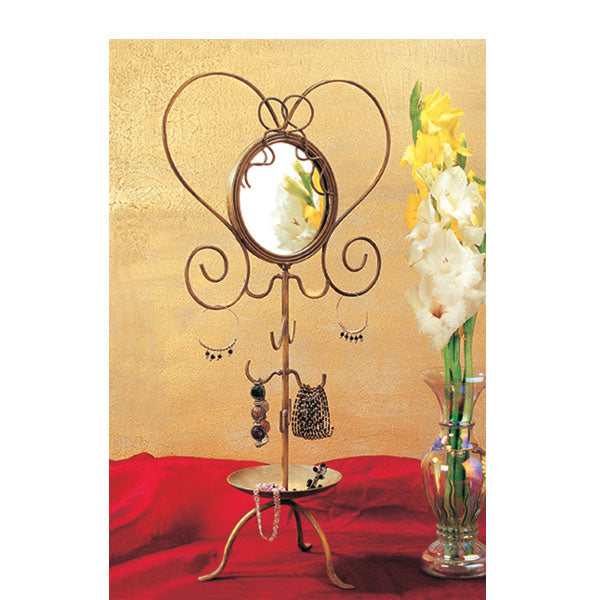 Ashley Jewelry Organizer with Mirror
