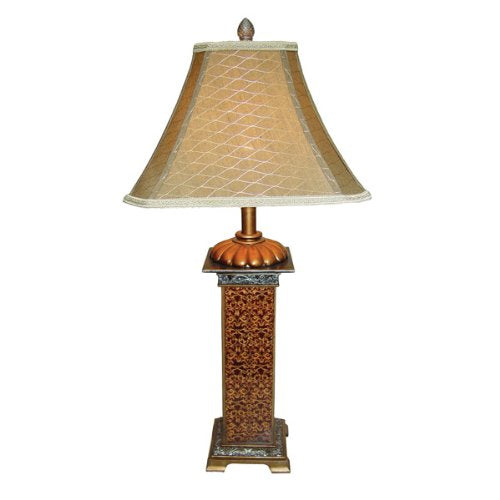 Monarch Embellished Antique Table Lamp