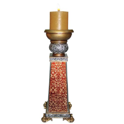 Monarch Embellished Antique Candleholder