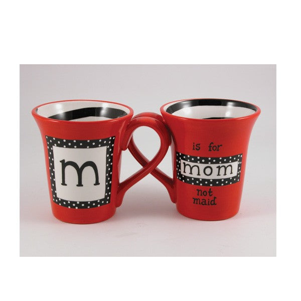 m is for MOM Mug