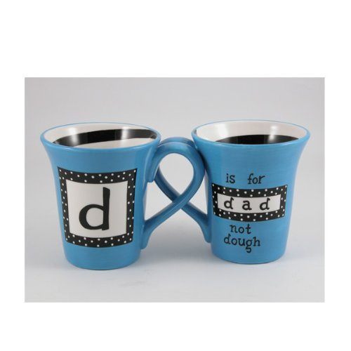 d is for DAD Mug