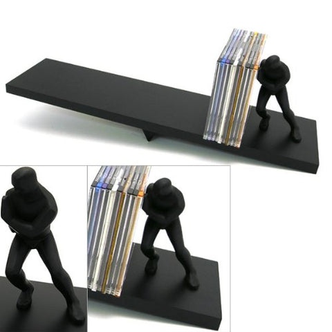 Precious Baby Bookends w/ Albums Gift Set - Blue
