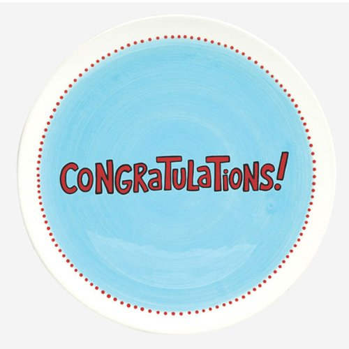Congratulations Platter and Pen (DIY)