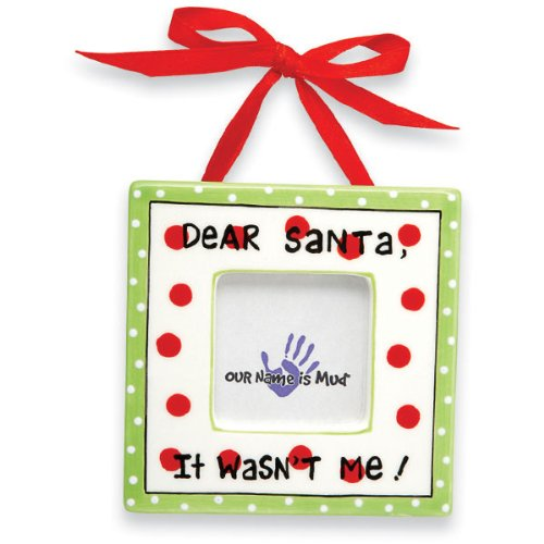 Dear Santa Christmas Frame Ornament