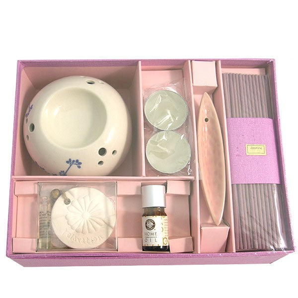 Relax Aromatherapy Oil & Incense Gift Set