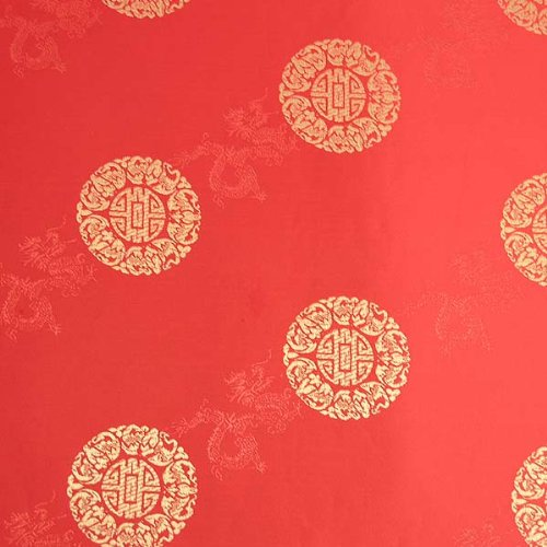 Longevity Satin Brocade Decorative Paper (set of 3)