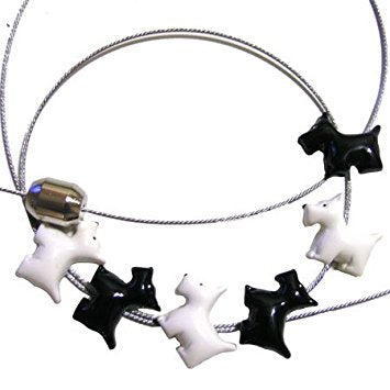 Scotty Dog Magnetic Photo Rope
