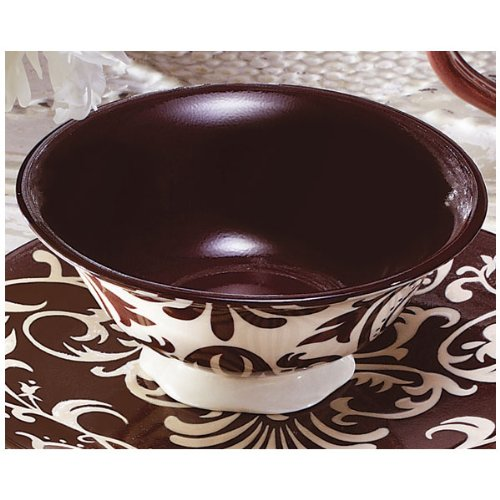 Victoria Stoneware Chocolate Vines Dinnerware