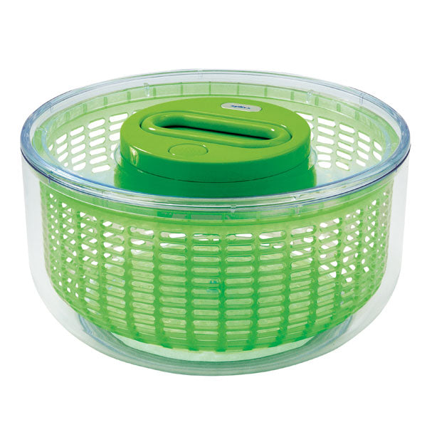 Zyliss Easy Spin 4-6 Serving Salad Spinner - Green
