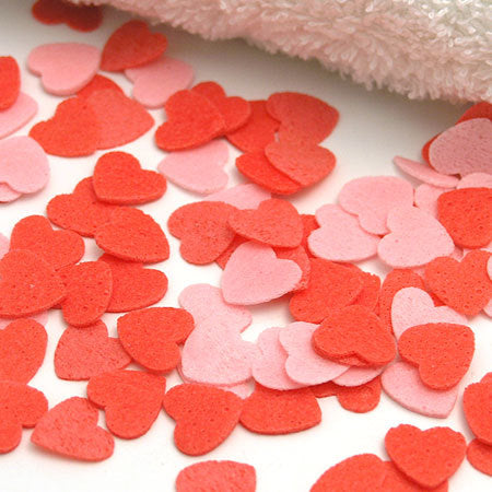 Scented Hearts Bath Confetti