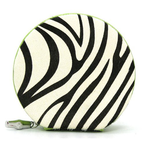 Travel Jewelry Case - Pony Hair Zebra
