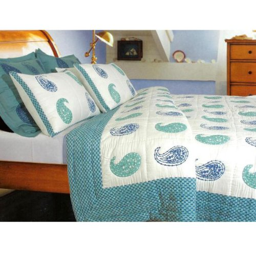 Bohemian Paisley Pond - Aqua Collection