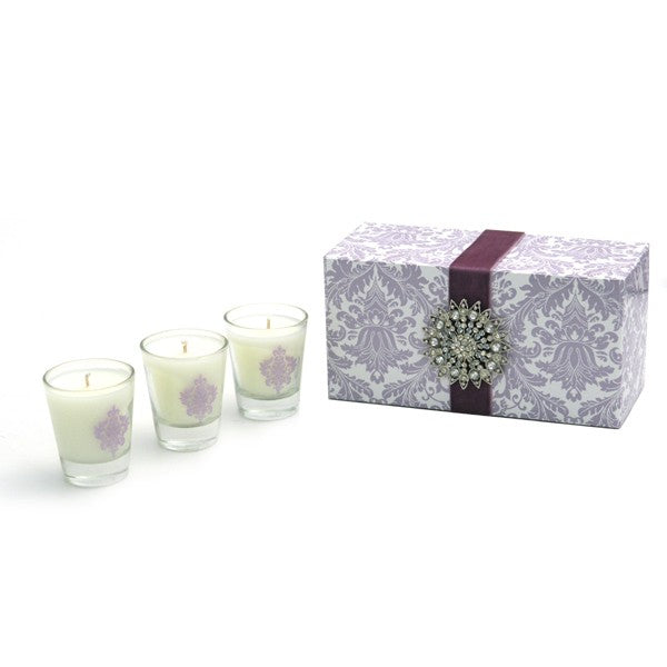 Archipelago Botanicals Royals Three Piece Votive Set