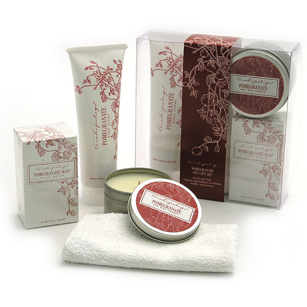 Archipelago Botanicals Pomegranate Spa Gift Set