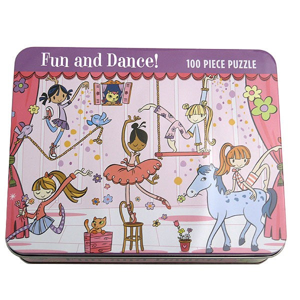 100 Pieces Puzzles in Tin