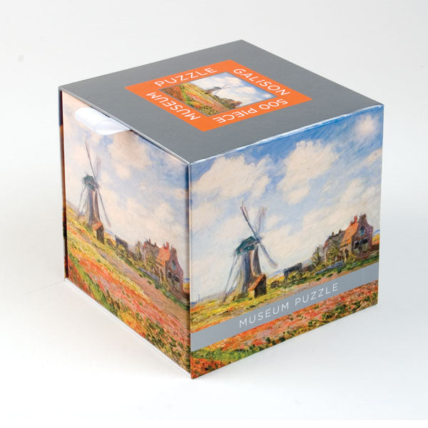 Artisan Museum Puzzles - Monet Windmill and Tulip Fields