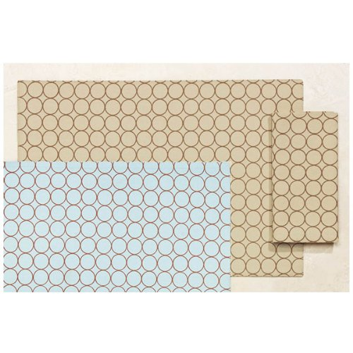 Rings Reversible Placemat - Beige