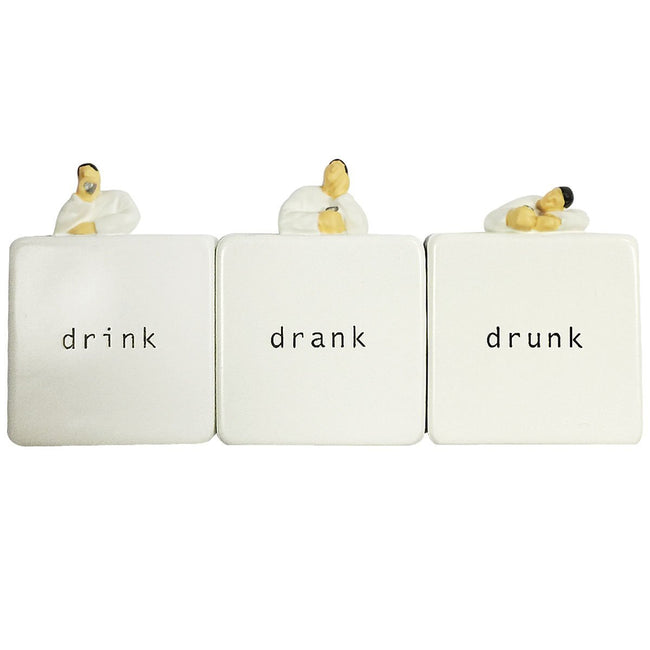 Drunkard Magnet & Bottle Openers (set of 3)