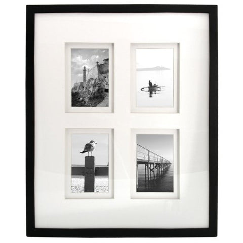 Faux Leather Photo Frames (set of 3)