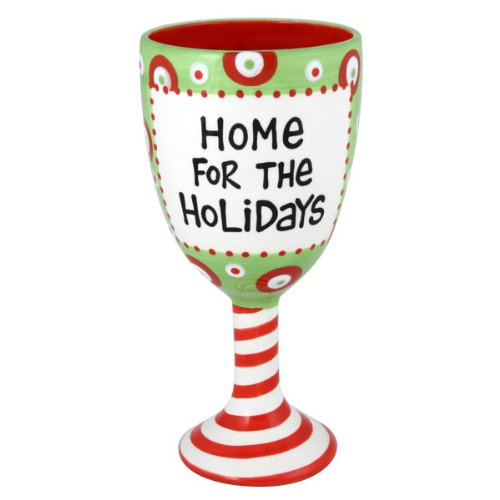 Home for the Holidays Goblet
