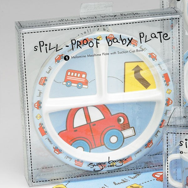 Baby Vroom Dinnerware Collection