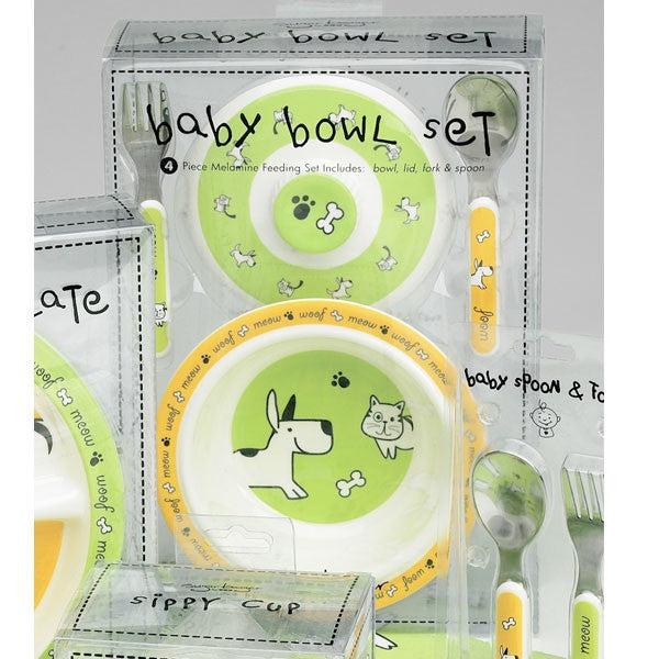 Furry Friends Dinnerware Collection