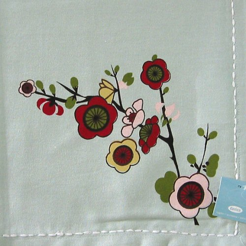"Ume Embroidered Floral Placemat & Napkin - Napkin (20"" x 20"")"
