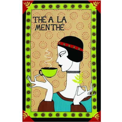 The A La Menthe Tea Towel