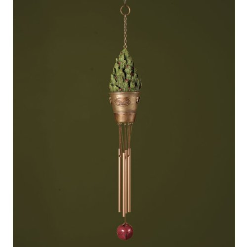 Welcome Bucket Wind Chime