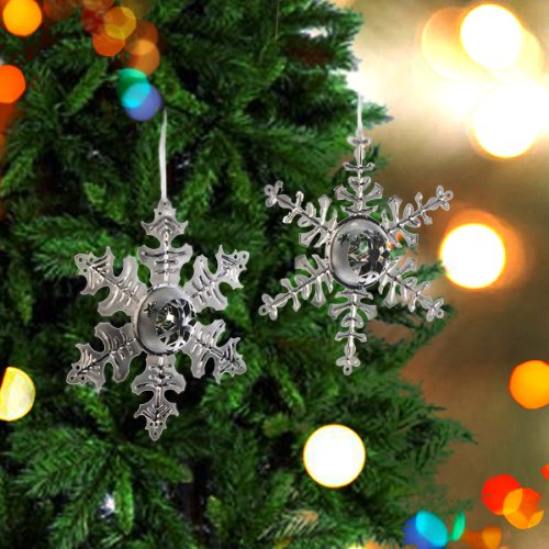 Snowflake Ornaments (set of 2)