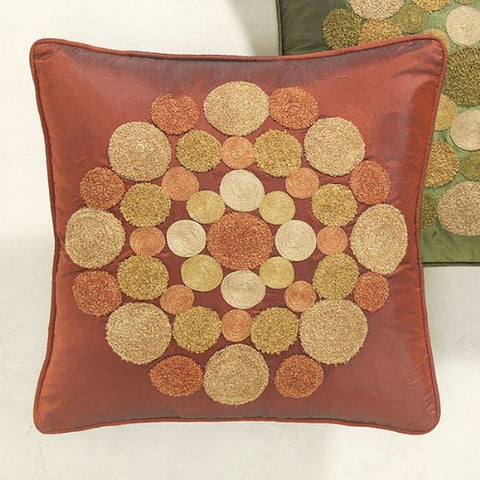 "Rings Floor Cushion (17"" x 17"" x 4"")"