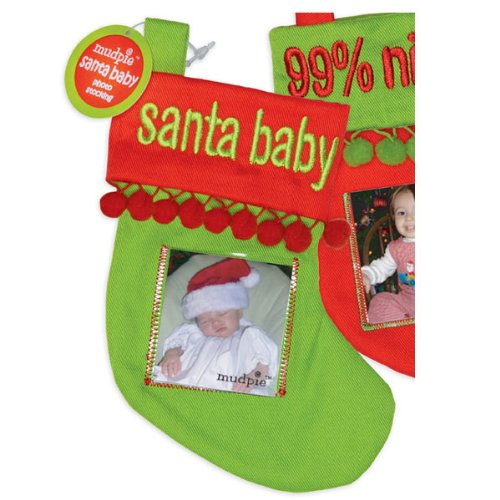 Mini Photo Christmas Stocking Ornament