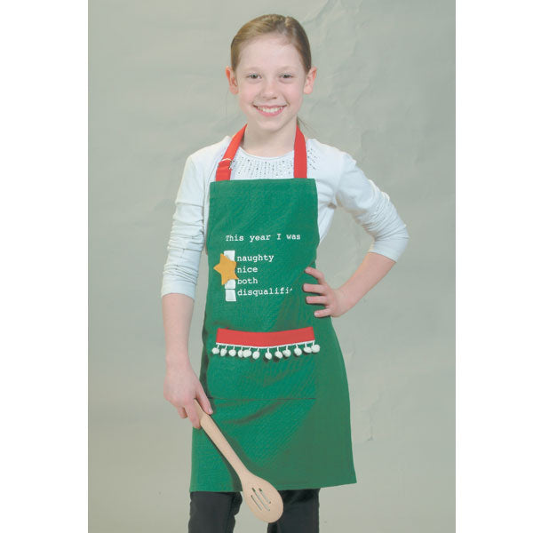 This Year I Was Kids Apron