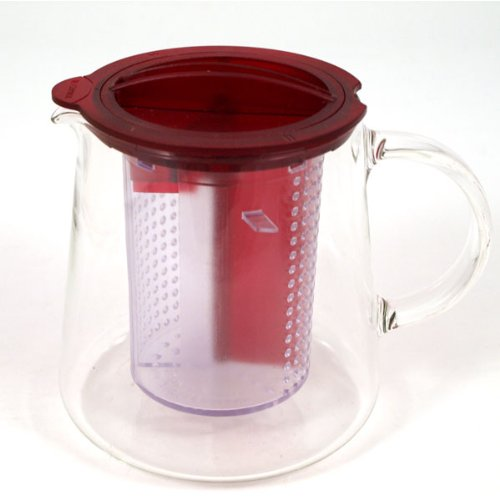 Tea Control Teapot with Brew Stop Infuser