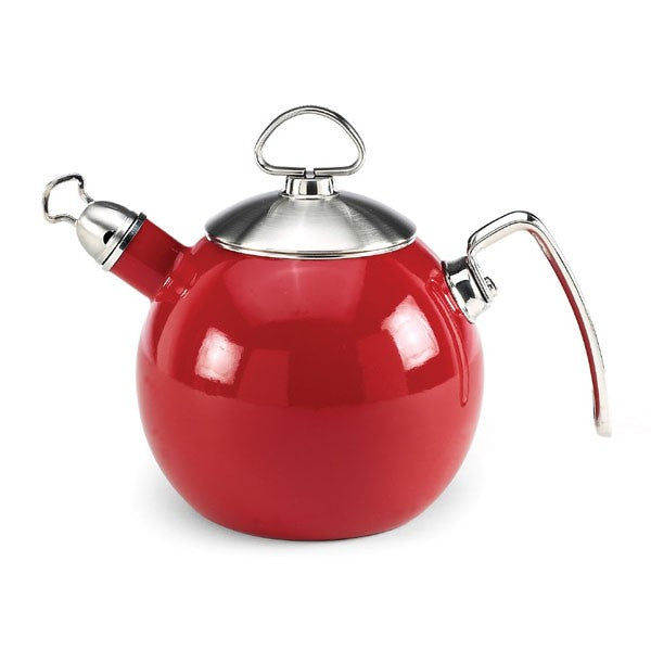 Chantal(R) Tea Ball Teakettle - Red Enamel