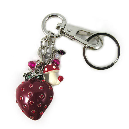 Strawberry Key Chain / Charm