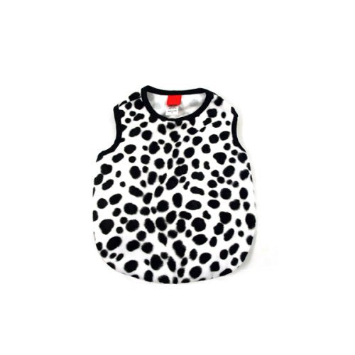 Spots Faux Fur Dog Tank Top