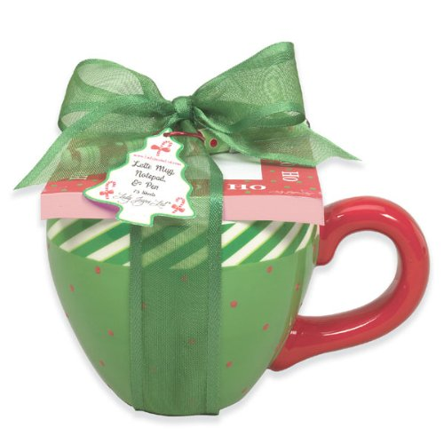 Green Latte Mug Gift Set