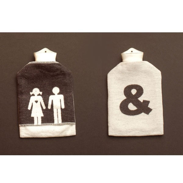 His & Her Hot Water Bottle
