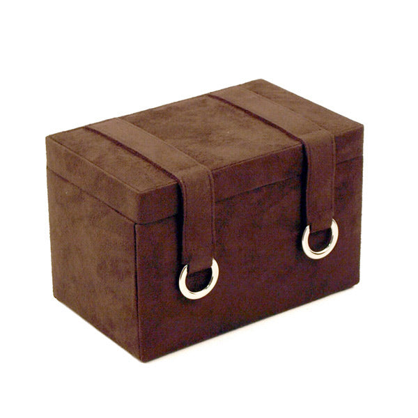 Primrose Ultrasuede Jewelry Box