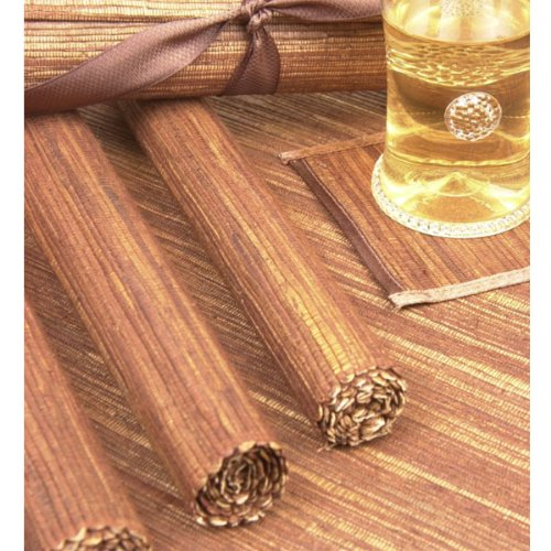 Hyacinth Placemats (set of 4) - Brown