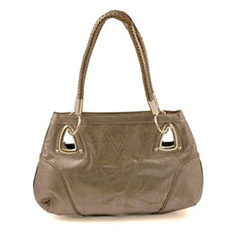 Pewter Shoulder Bag