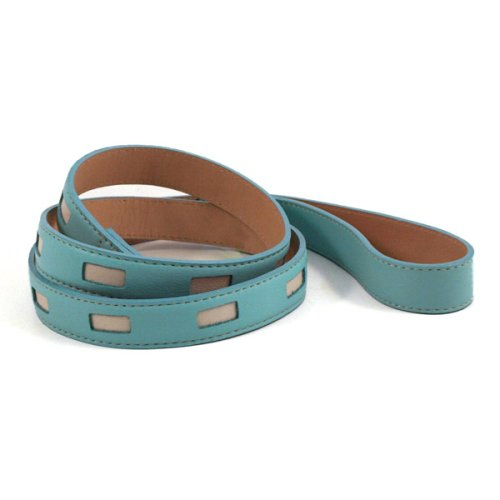 Manhattan Turquoise Dog Collar & Lead