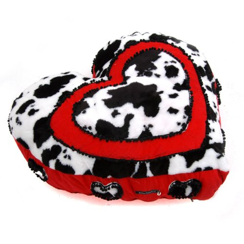 Moo Moo Hearts Pet Bed