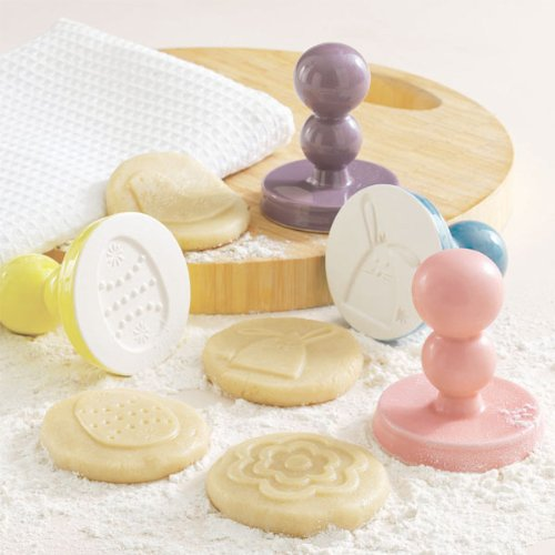 Vintage Easter Cookie Press (set of 4)